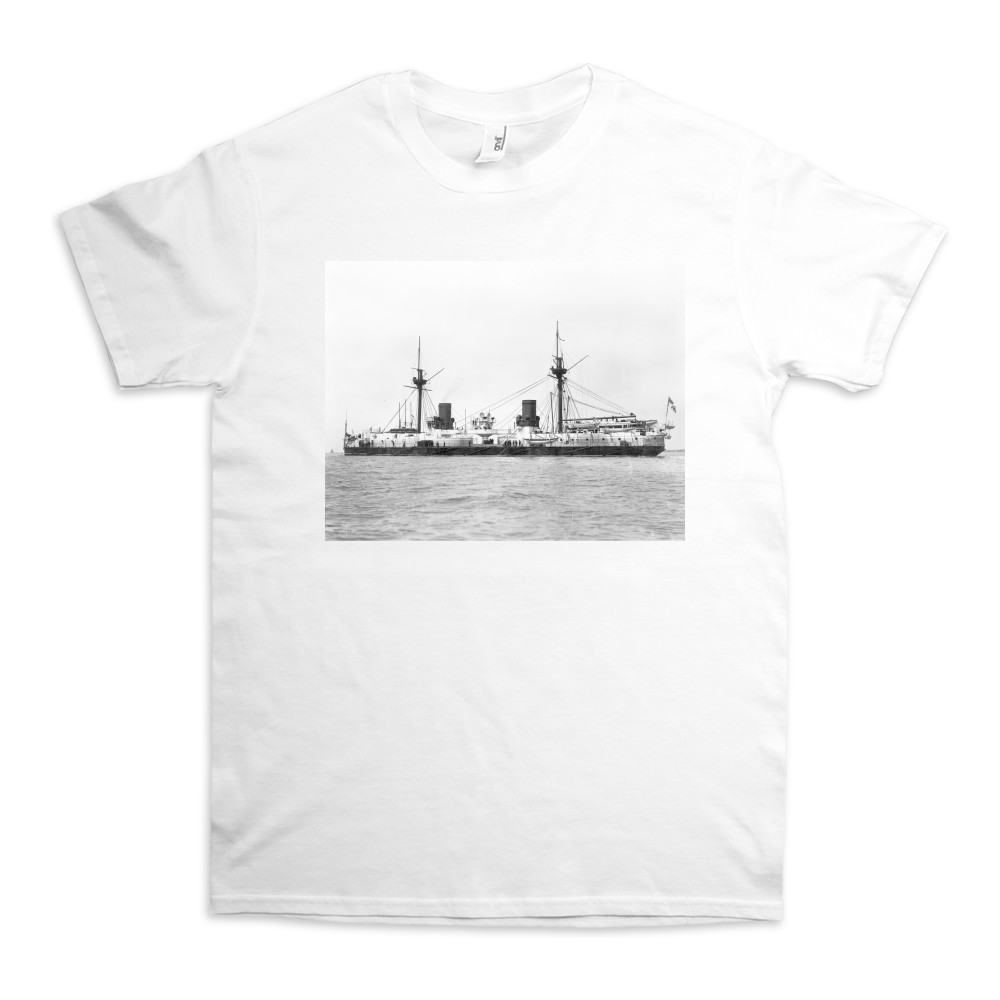 HMS Inflexible After Conversion to Military Rig TShirt