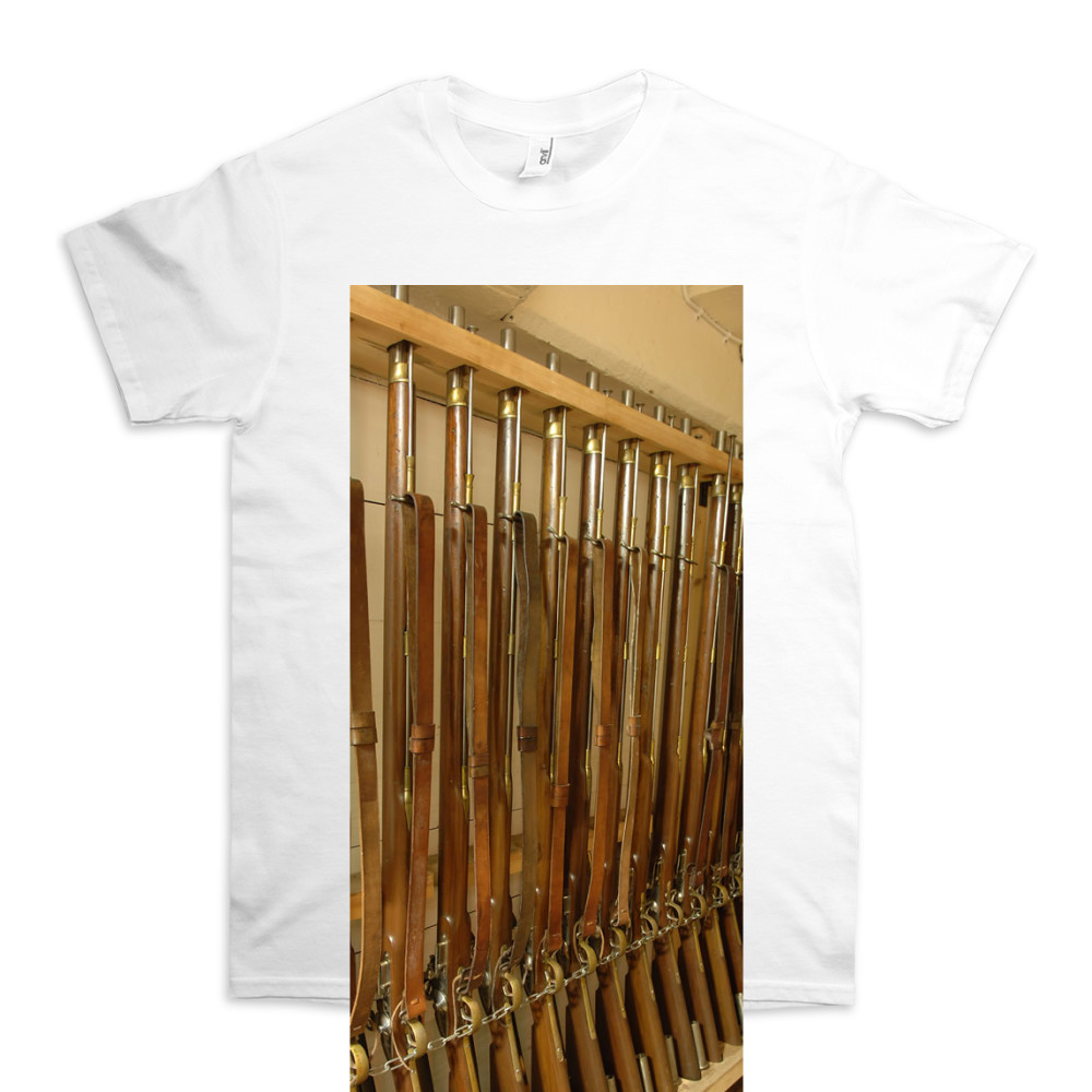 Musket Rack on HMS Victory TShirt