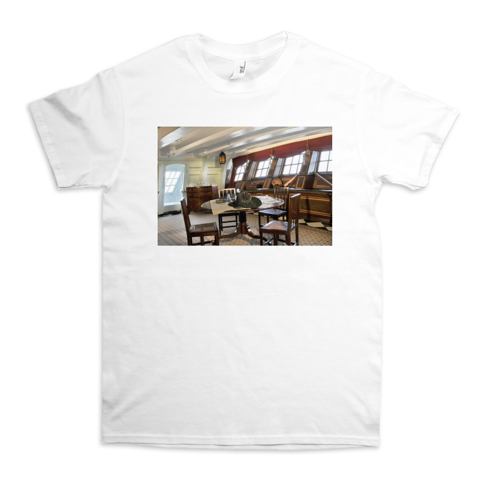 The Great Cabin on HMS Victory TShirt