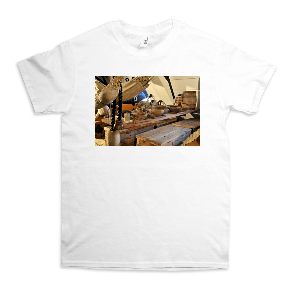 Mess Table on HMS Victory TShirt