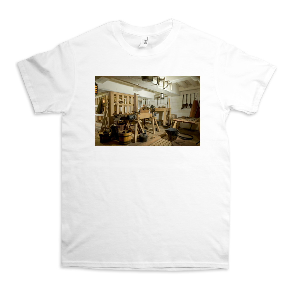 Carpenter's Workshop on HMS Victory TShirt