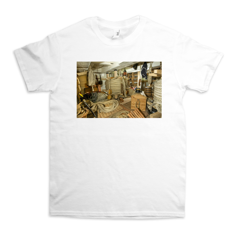 Rope Store on HMS Victory TShirt