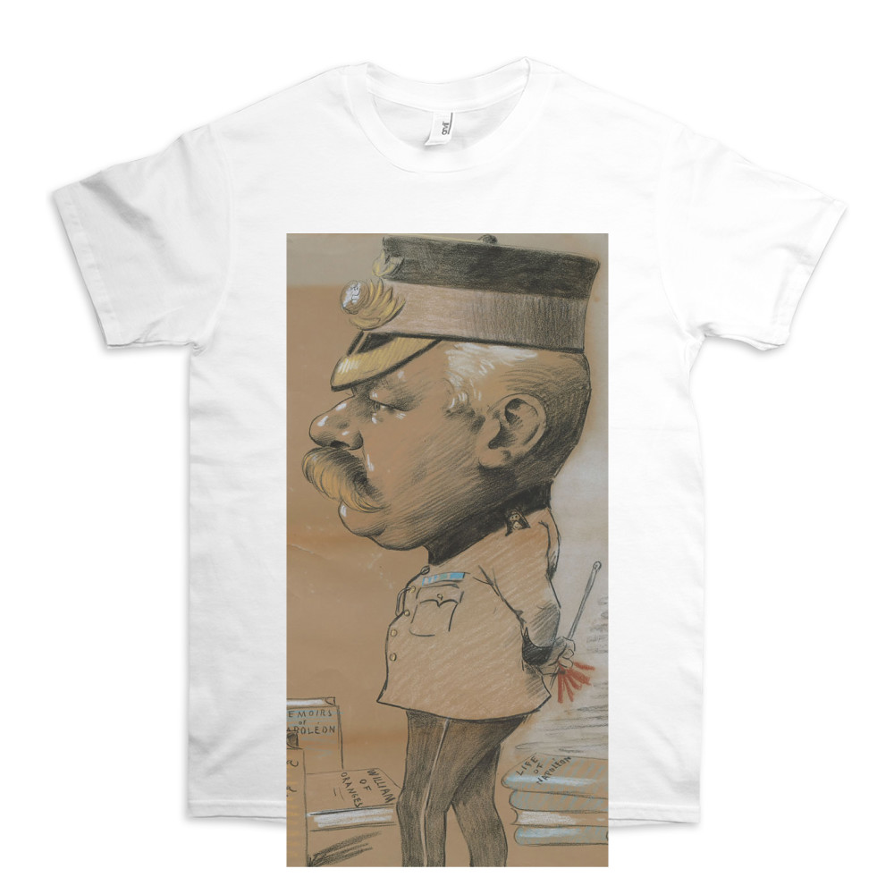 caricature, unidentified Lieutenant Colonel of the Royal Marines Light.. TShirt
