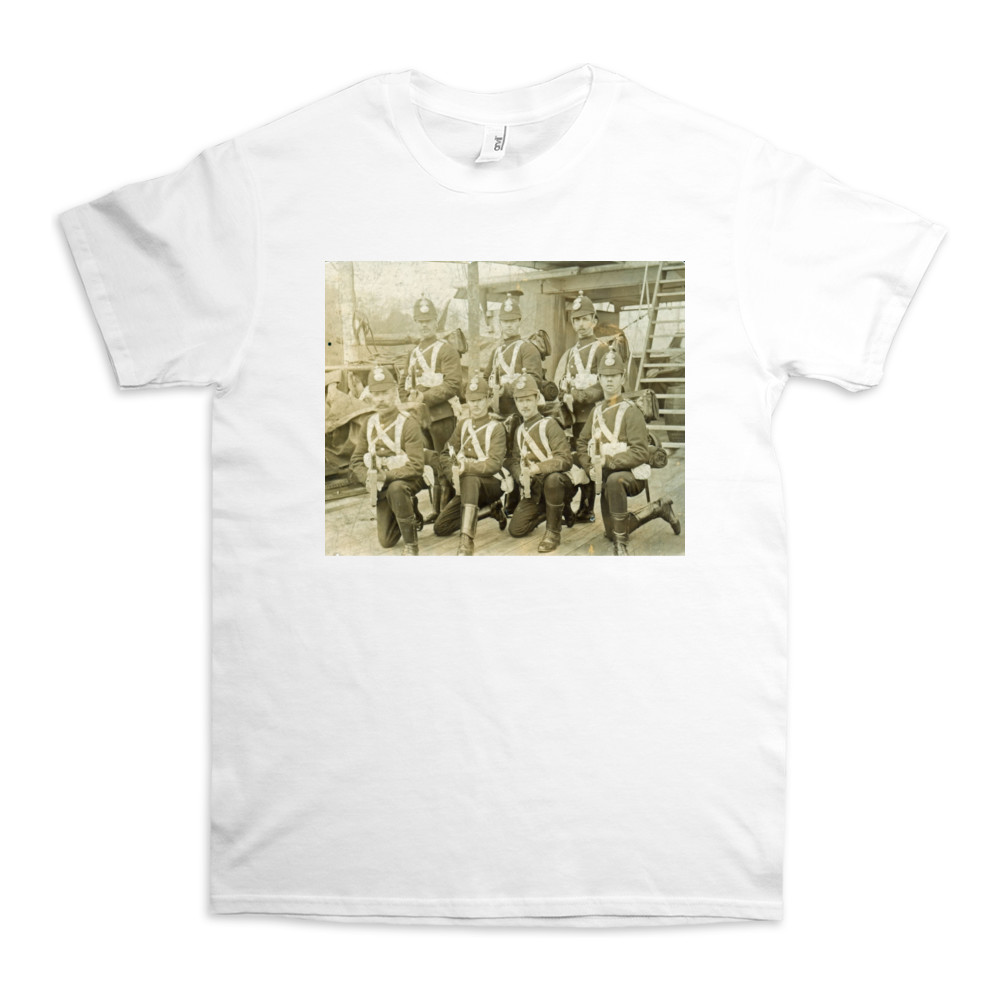 Royal Marine Artillery detachment aboard an unidentified warship, c1890... TShirt