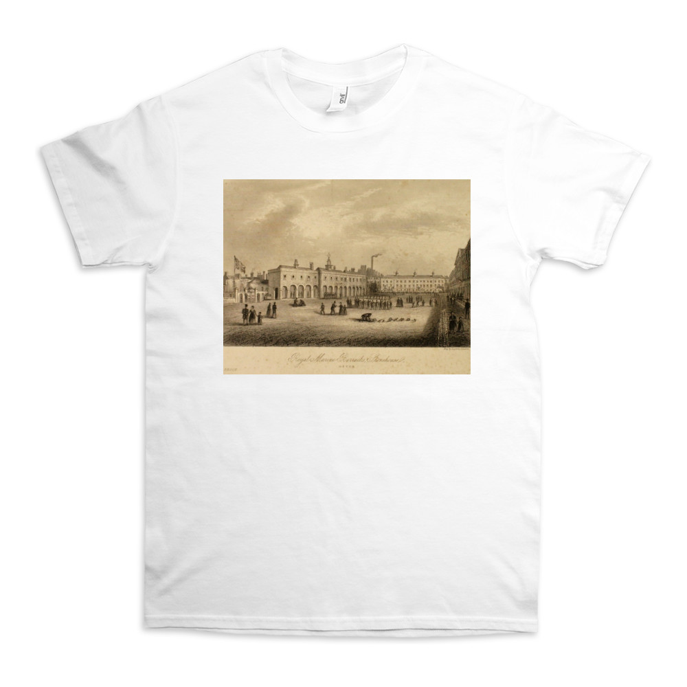 Royal Marines Barracks Stonehouse, Devon TShirt