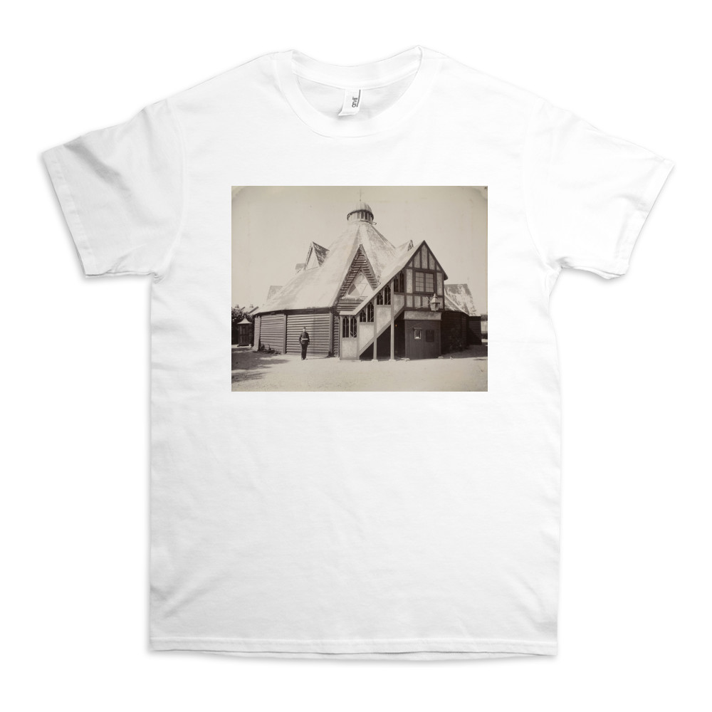 Royal Marine Artillery Church (Crinoline Church) exterior view at the.. TShirt