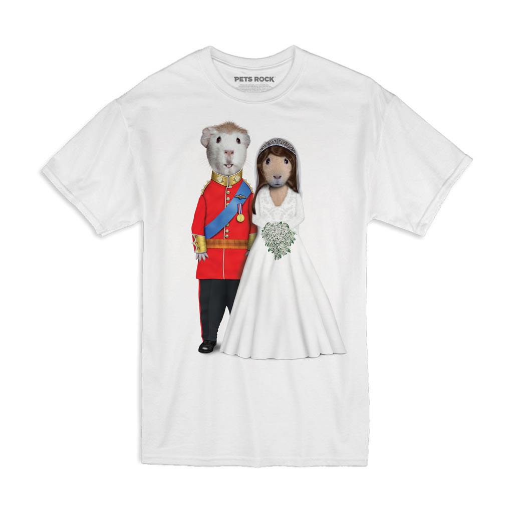 Mr & Mrs Pets Rock Unisex T-Shirt