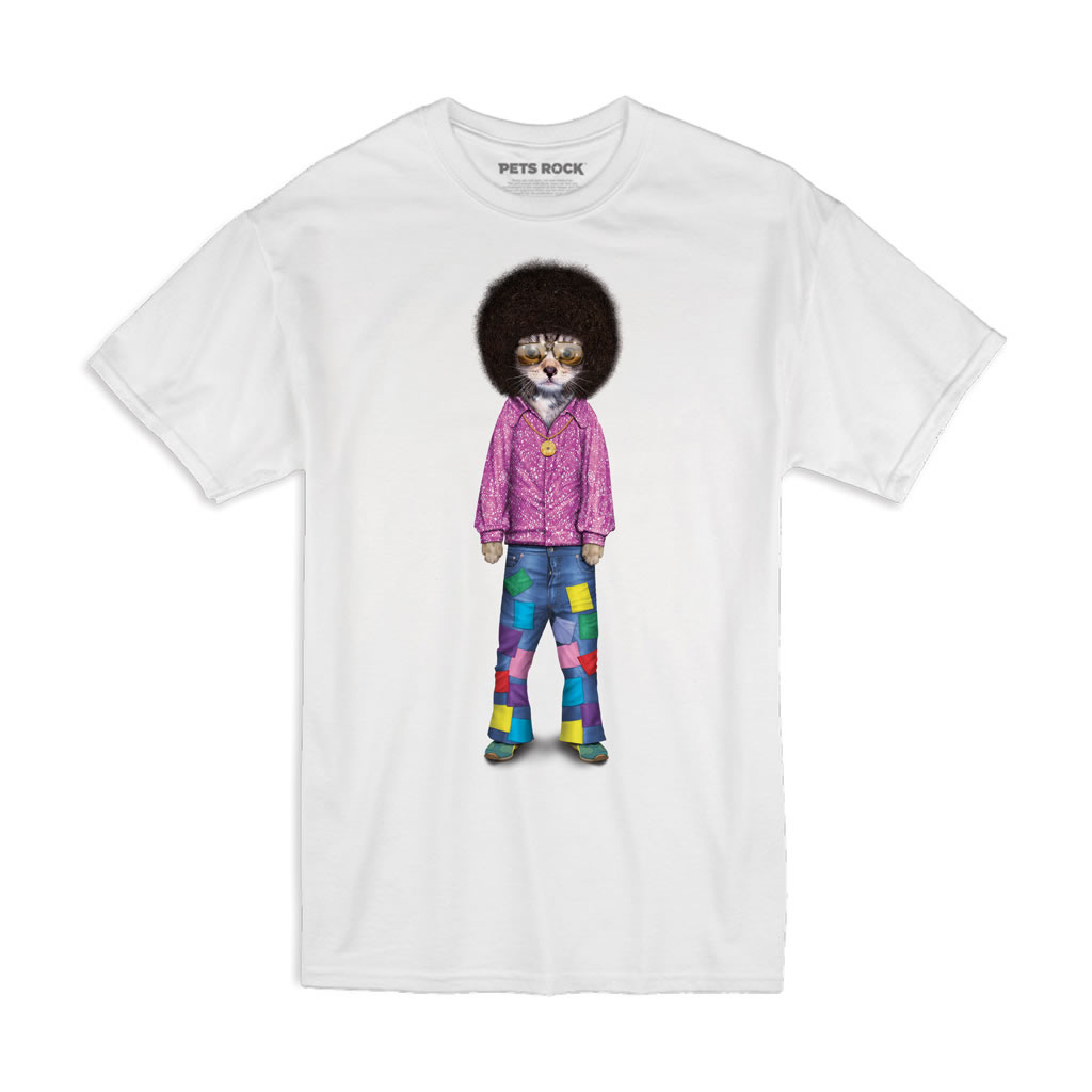 Disco Pets Rock Unisex T-Shirt